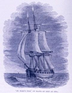 St. Elmo's Fire on a sailing ship - Static Discharge: Windshield Light Show - AeroSavvy