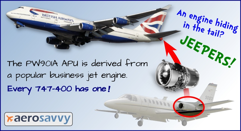Your Airliner Has A Hidden Engine! - AeroSavvy