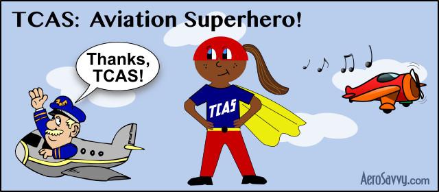 TCAS Aviation Superhero