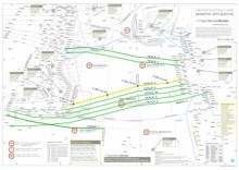 North Atlantic Plotting Chart Thumbnail - North Atlantic Tracks