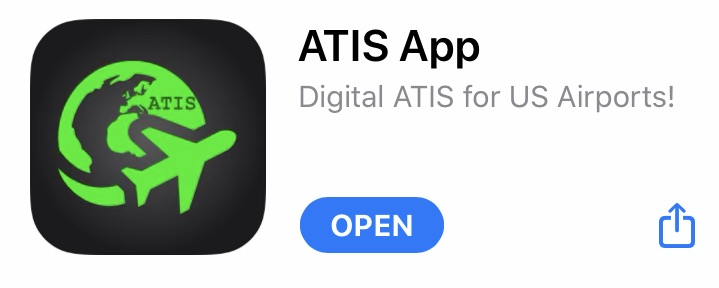 Image of the ATIS App App Store entry