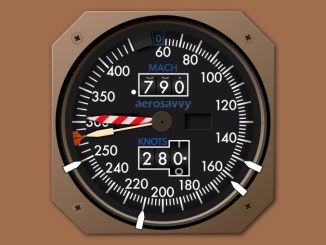 Boeing Airspeed Indicator