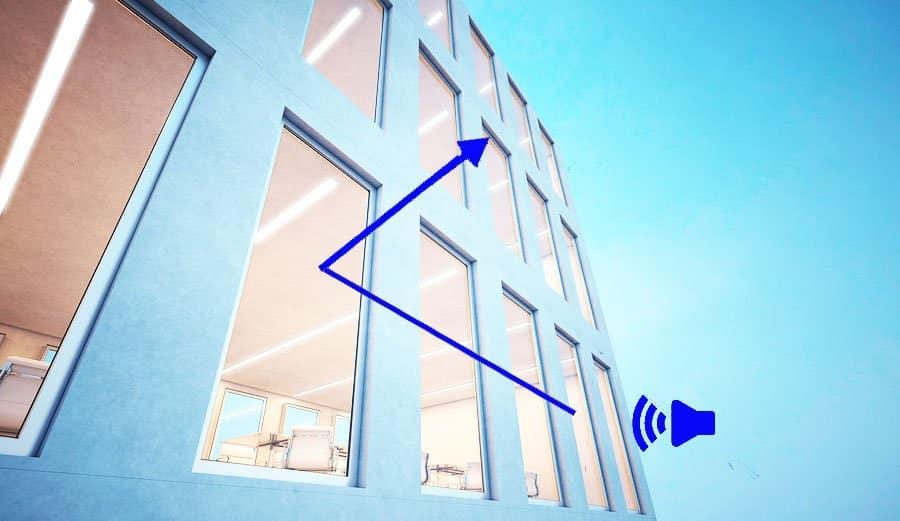 sound reducing windows
