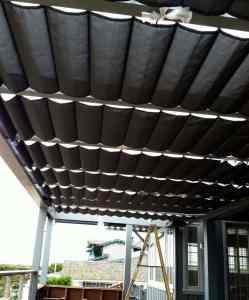 Slide Wire Cable Awnings | Slide Wire Cable Awnings In Los Angeles Aero Shade