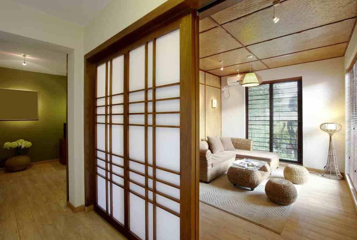 Asian influence on California home decor with Aero Shade Co in Los Angeles