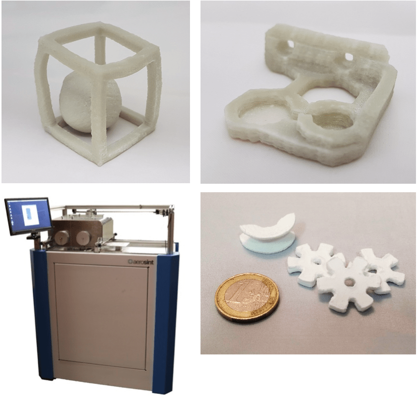 3D printed ceramics parts Aerosint