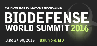 Biodefense World Summit 2016