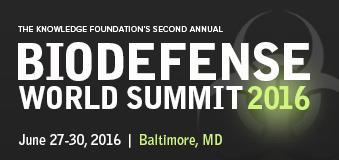 Biodefense World Summit 2016