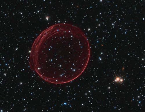 Supernova Bubble Picture