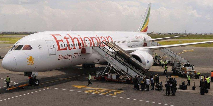 Ethiopian Airlines passenger plane