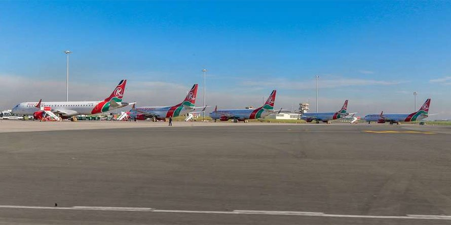 Kenya Airways planes
