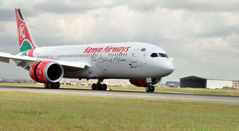 Kenya Airways' Boeing 787 Dreamliner
