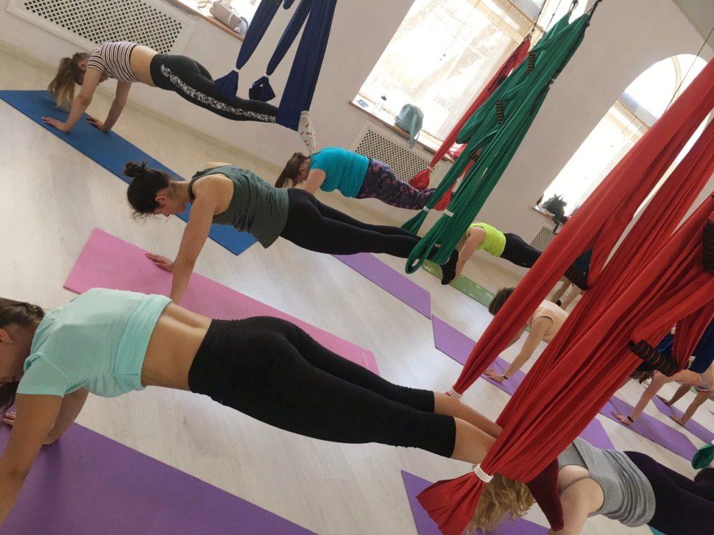 аэро йога для здоровья