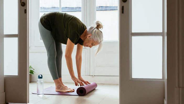 Йога при деменции: йога против забывчивости