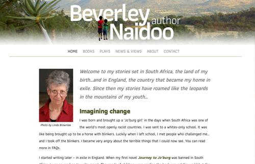 Beverley Naidoo – author