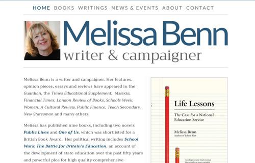 Melissa Benn – writer & campaigner