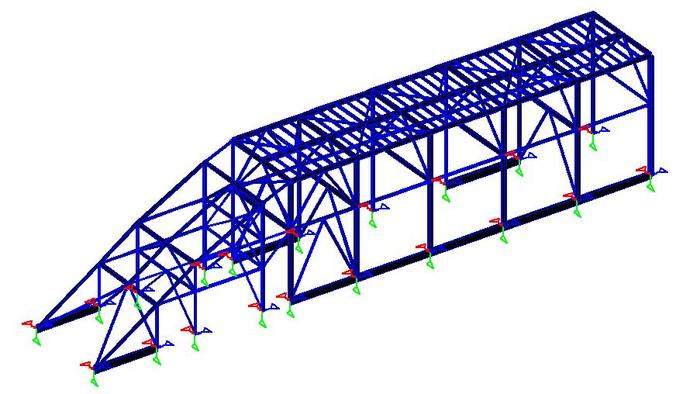 Steel Piperack Process Plant
