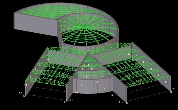 Arena building