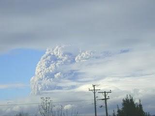 Erupción volcánica Cordón Caulle-Puyehue, Región de los Lagos, Chile (2/6)