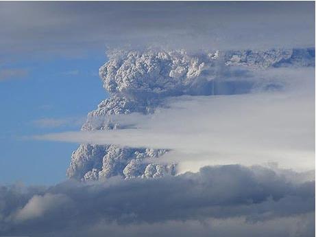 Erupción volcánica Cordón Caulle-Puyehue, Región de los Lagos, Chile (1/6)