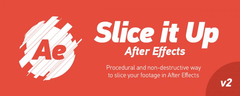 Slice it Up for Mac 2.0 破解版 - AE图形素材切割MG动画脚本