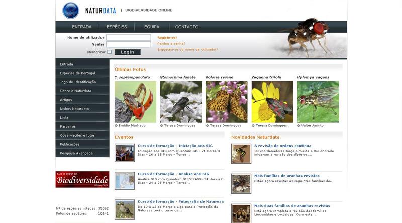 Naturdata – Biodiversidade Online