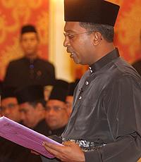 Menteri Besar Perak, Datuk Seri Dr. Zambry Abd Kadir