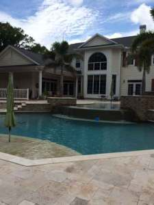 Aes Home Improvements Tampa Florida deck, pool and outdoor kitchens