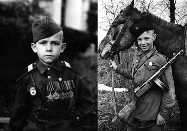 Дети - герои Великой Отечественной