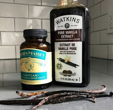 Vanilla beans, paste and extract