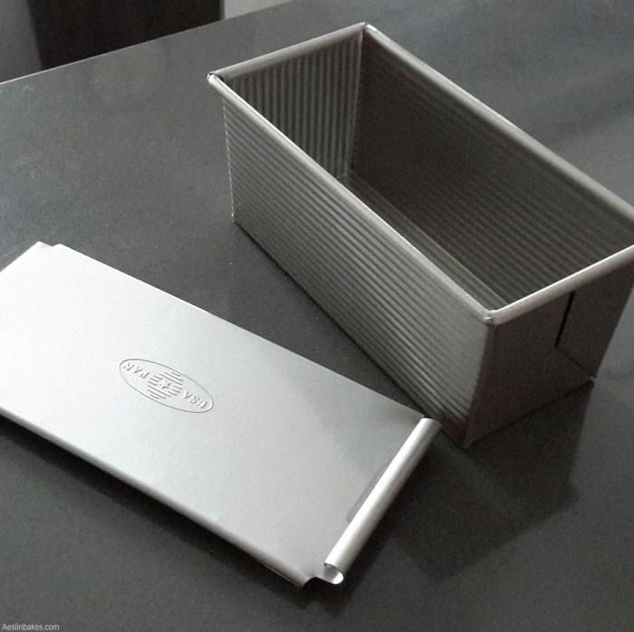 9x4-inch Pullman pan (for brioche)