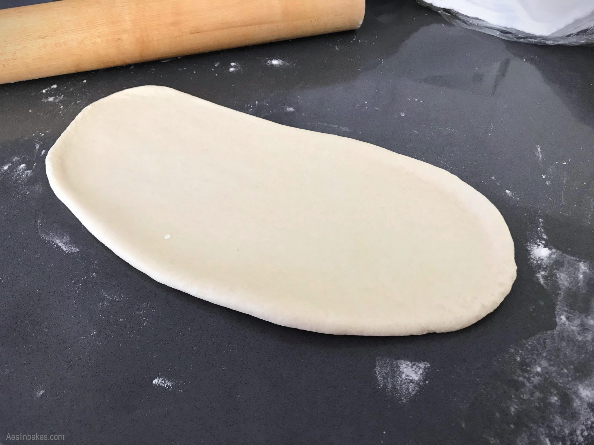 Shaping hoagie rolls 2