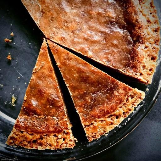 Brown Butter Crack Pie slices