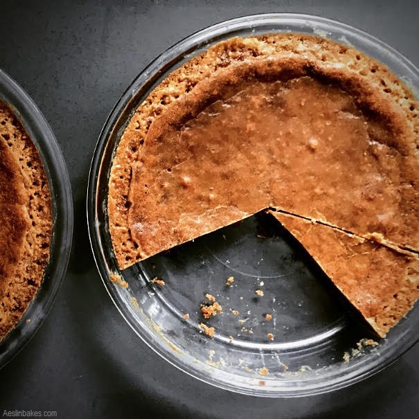 Brown Butter Crack Pies