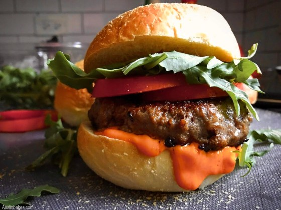 hamburger buns - burger