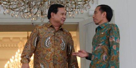 Pertemuan Joko Widodo dengan Prabowo Subianto
