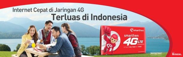 Jangkauan Paling Luas Smartfren Generasi 4G