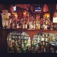 Palace Cafe metal bar in Brooklyn