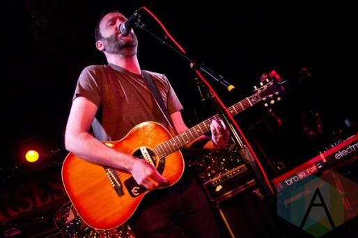 Thomas D'Arcy performing at The Horseshoe Tavern in Toronto, ON on May 1, 2015 during CMW 2015. (Photo: Philip C. Perron/Aesthetic Magazine Toronto)