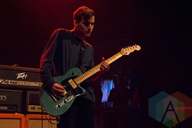 Safe To Say performing at The Danforth Music Hall in Toronto on December 20, 2015 during the Stay Warm Festival. (Photo: Theo Rallis/Aesthetic Magazine)