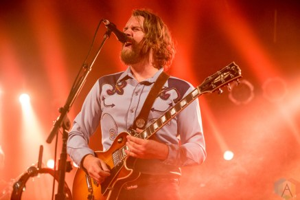 The Sheepdogs performing at Lee's Palace in Toronto on September 14, 2016. (Photo: Brendan Albert/Aesthetic Magazine)