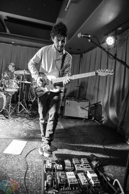 Surfer Blood performs at Barboza in Seattle on February 12, 2017. (Photo: Daniel Hager/Aesthetic Magazine)