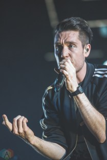 Bastille performs at the Air Canada Centre in Toronto on March 24, 2017. (Photo: Charito Yap/Aesthetic Magazine)