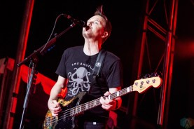 Blink-182 performs at the Kino Veterans Memorial Stadium in Tucson, AZ on March 26, 2017 during KFMA Day. (Photo: Meghan Lee/Aesthetic Magazine)