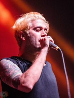 Glassjaw performs at Musink Festival at the OC Fair and Events Center in Costa Mesa, California on March 18, 2017. (Photo: Amanda Witt/Aesthetic Magazine)