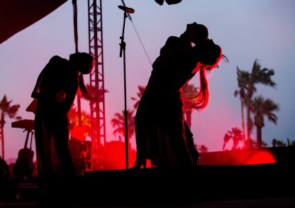 Banks performs at the Coachella Music Festival in Indio, California on April 14, 2017. (Photo: Erik Voake)