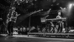 Jagwar Ma performs at the Coachella Music Festival in Indio, California on April 14, 2017. (Photo: Erik Voake)
