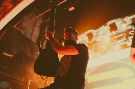 Periphery performs at the Opera House in Toronto on April 5, 2017. (Photo: Alexander Lam/Aesthetic Magazine)