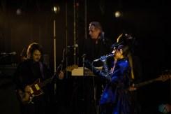 PJ Harvey performs at Massey Hall in Toronto on April 13, 2017. (Photo: Lisa Mark/Aesthetic Magazine)