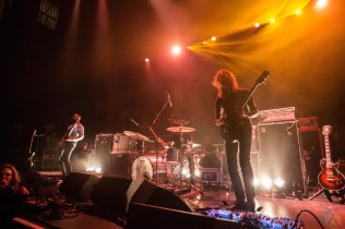 Russian Circles performs at the Paramount Theatre in Seattle on April 15, 2017. (Photo: Daniel Hager/Aesthetic Magazine)